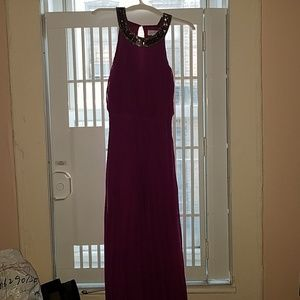 Jessica Simpson Fuchsia Maxi Dress